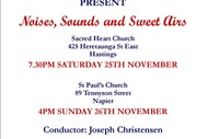 Noises, Sounds and Sweet Airs: Cantare Chamber Choir.