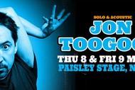 Jon Toogood - Solo & Acoustic.