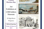 History of Art In Central Hawke's Bay.