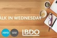 Free Xero Support BDO Walk in Wednesday.