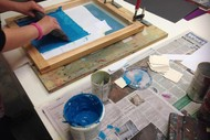 Screenprinting Weekend Workshop.