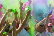 Colour Fun Run.