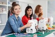 Weekly Beginner's Sewing Classes.
