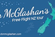 Don McGlashan - Free Flight NZ Tour.