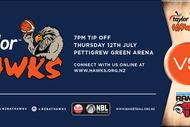 Taylor Hawks v Canterbury Rams.
