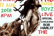 Celebrate the Legend - The Rude Boyz Bob Marley Tribute.
