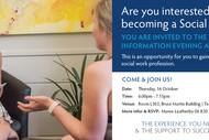Social Work Careers Information Evening.