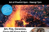 Pyroclassic Fire & Clay Night Ariana Music Kapa Haka.