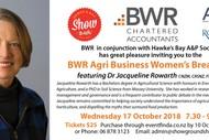 BWR Agri Business Women's Breakfast.