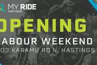 My Ride Hastings Opening Weekend.