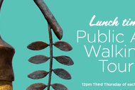 Public Art Guided Tour with Art Curator - Jess Mio.