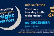 Harcourts Hastings City Christmas Stocking Stuffer Market.