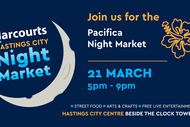Harcourts Hastings City Pacifica Night Market.