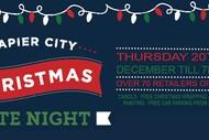 Napier City Christmas Late Night.