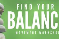 Find Your Balance Workshop.