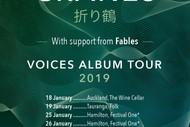 Paper Cranes - Voices Tour.