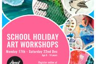 Children's School Holiday Art Workshops.