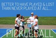 Pickleball.