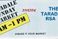 Taradale Sunday Market.