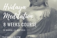 8 Weeks Hridaya Meditation Course.
