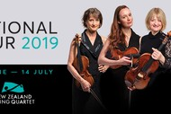 NZ String Quartet: National Tour 2019.