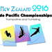 2016 Indo Pacific Trampoline & Tumbling Championships.