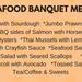 Seafood Banquet.