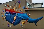 Seaweek - Seawalls Mural Tour CBD Walk.
