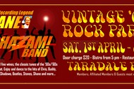Vintage Rock n Roll Party with Shane & the Shazam Band.