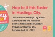 Hastings City Bunny Adventure.