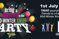 Bring Your Party to The Mid-Winter Xmas Party 2017 at No.5.
