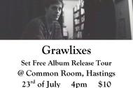 Grawlixes - Set Free Album Release Tour.