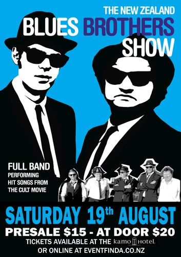 1bbe439ae Blues Bothers Tribute Show: CANCELLED - WhangareiNZ.com