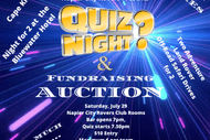 Napier City Rovers Quiz and Fundraising Auction Night.