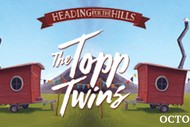 The Topp Twins Heading for the Hills.