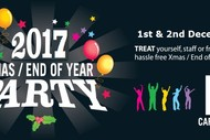 Bring Your Party to The Christmas Party 2017.