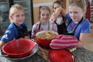 Children's Cooking Class Italian Pasta and Desserts.