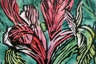 Weekend Masterclass In Painterly Woodcuts With Kathy Boyle.